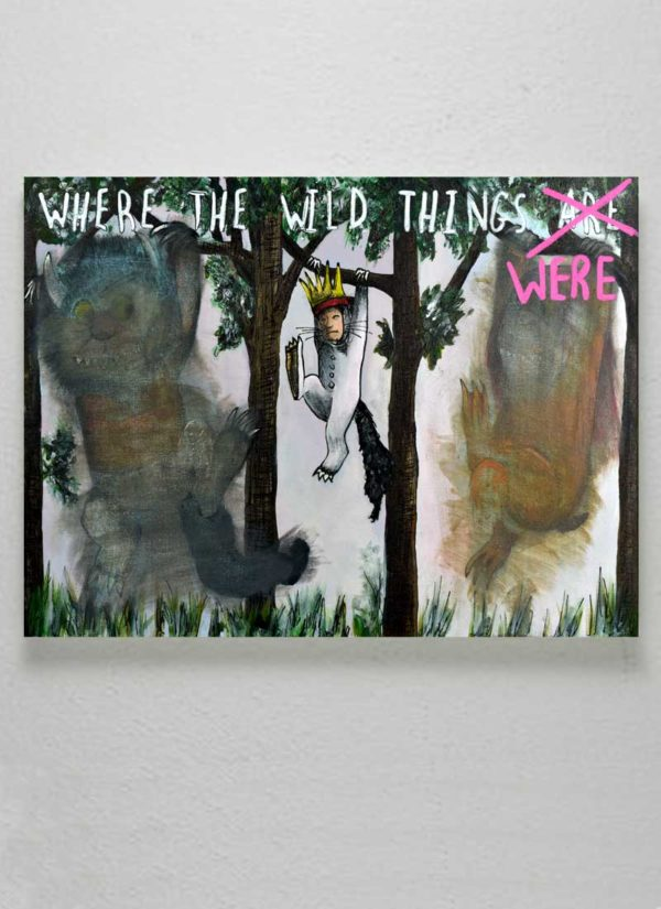 Where The Wild Things Were Environmental Art by Paul Kneen